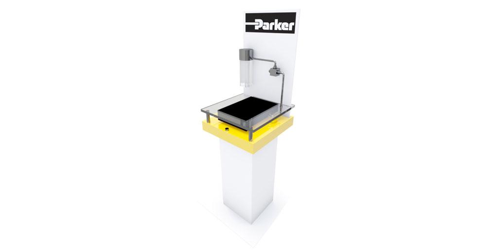 Parker Acrylic Display