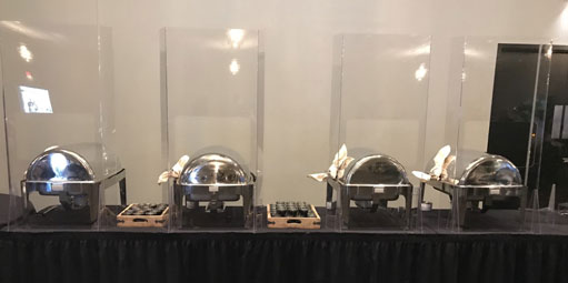 Banquet Hall Acrylic Dividers