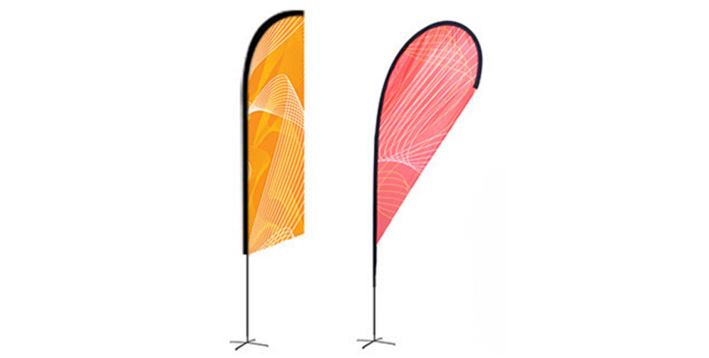 Outdoor Flags with Flag Stands