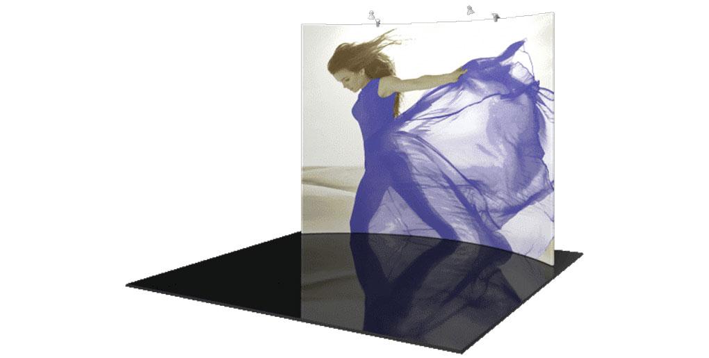Large Tension Fabric Display